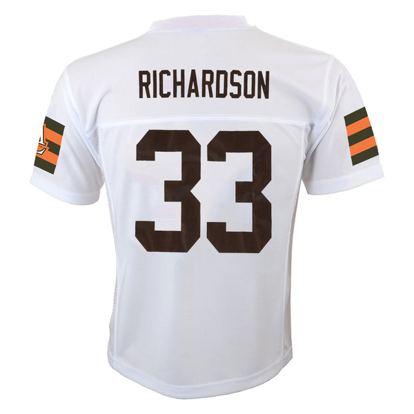 Trent Richardson NFL Cleveland Browns Mid Tier Away White Jersey Youth (S-XL)