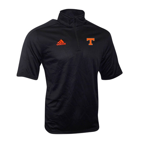 Tennessee Volunteers NCAA Adidas Men's Game Built Climalite Black Coaches Knit