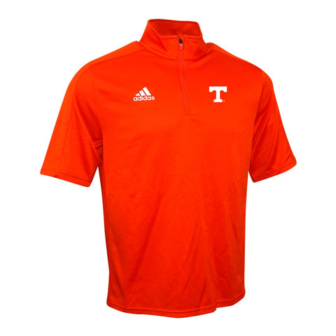 Tennessee Volunteers NCAA Adidas Men's Game Built Climalite Orange Coaches Knit