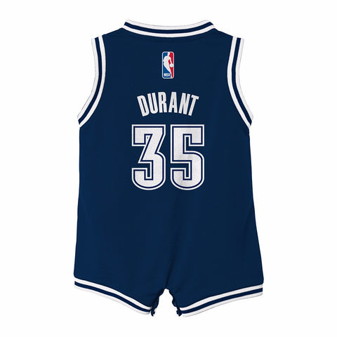 Kevin Durant Oklahoma City Thunder NBA Adidas Infant Alternate Onesie Jersey