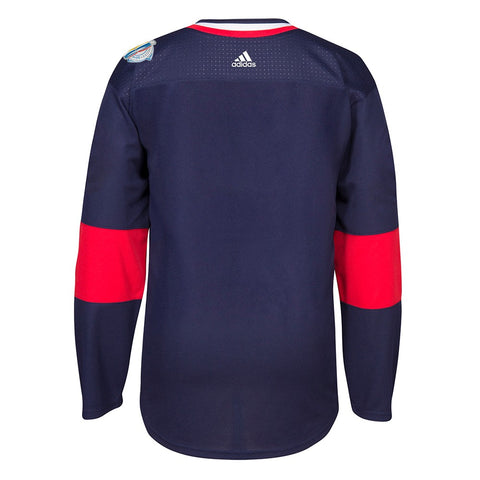2016 USA World Cup of Hockey Adidas NHL Men's Navy Blue Premier Jersey