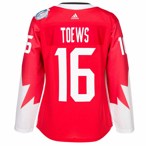 Jonathan Toews Canada NHL Women's Red 2016 World Cup of Hockey Premier Jersey