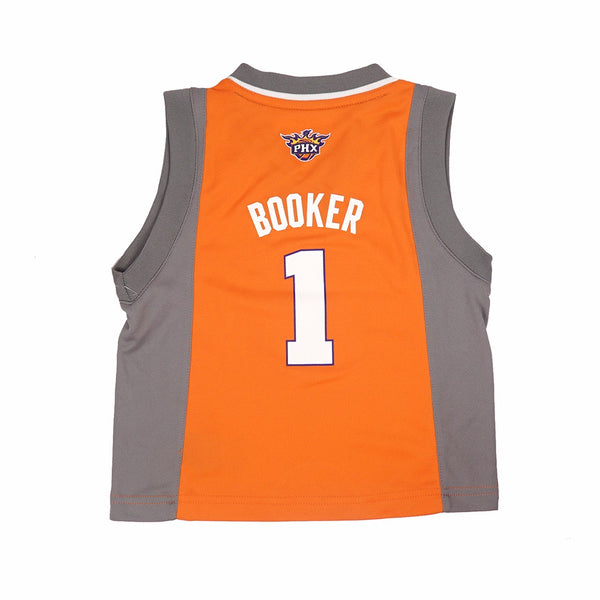 178bc9cc69c Devin Booker Phoenix Suns NBA Adidas Toddler Orange Alternate Replica Jersey