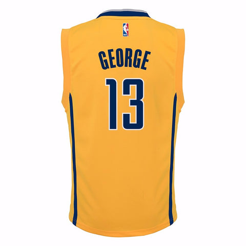 Paul George Indiana Pacers NBA Adidas Toddler Gold 2nd Alternate Replica Jersey