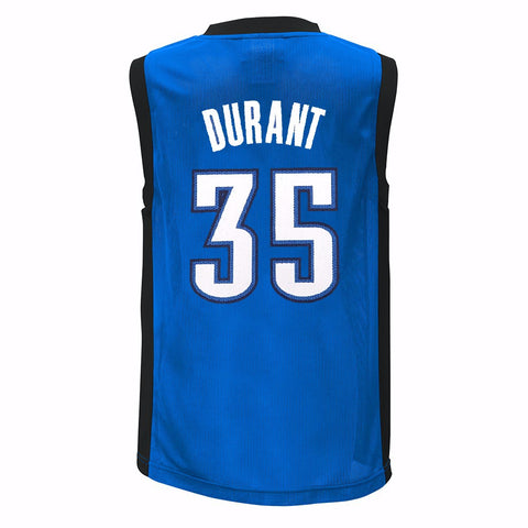 Kevin Durant Oklahoma City Thunder NBA Adidas Toddler Blue Road Replica Jersey