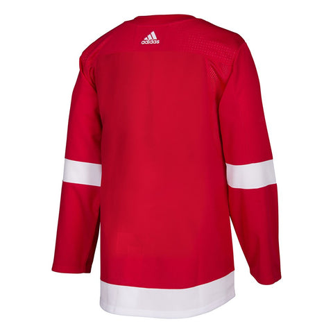 2017-18 Detroit Red Wings Adidas Authentic On-Ice Home Red Jersey Men's