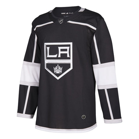 2017-18 Los Angeles Kings Adidas Authentic On-Ice Home Black Jersey Men's