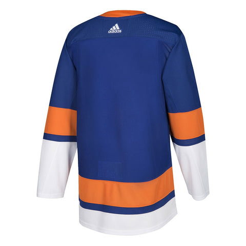 2017-18 New York Islanders Adidas Authentic On-Ice Home Blue Jersey Men's