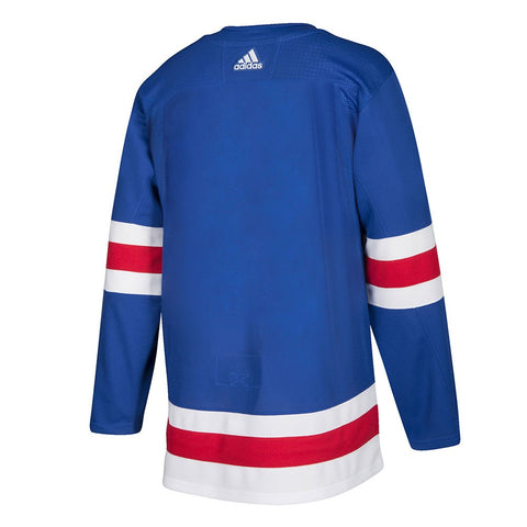 2017-18 New York Rangers Adidas Authentic On-Ice Home Blue Jersey Men's
