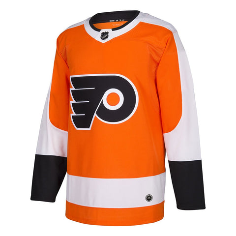 2017-18 Philadelphia Flyers Adidas Authentic On-Ice Home Orange Jersey Men's