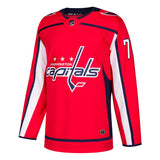2017-18 Braden Holtby Adidas Washington Capitals Authentic Home Red Jersey Men's