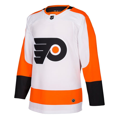 2017-18 Philadelphia Flyers Adidas Authentic On-Ice Away White Jersey Men's