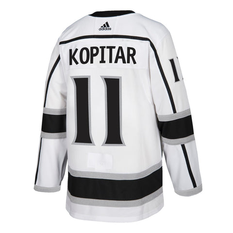 Anže Kopitar Los Angeles Kings NHL Adidas White Authentic On-Ice Pro Jersey