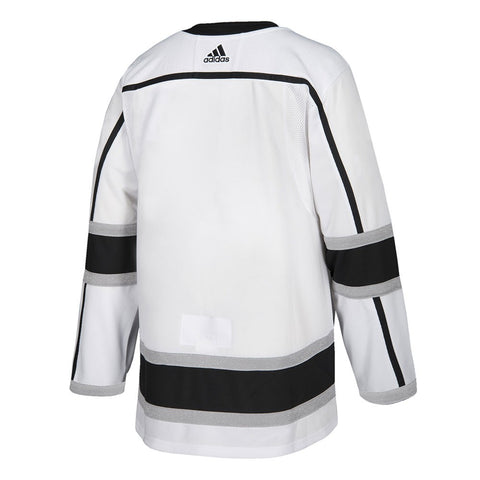2017-18 Los Angeles Kings Adidas Authentic On-Ice Away White Jersey Men's