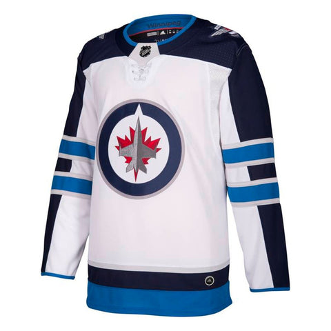 1e779cbdbfd Winnipeg Jets NHL Adidas Men's White Away Authentic On-Ice Pro Jersey