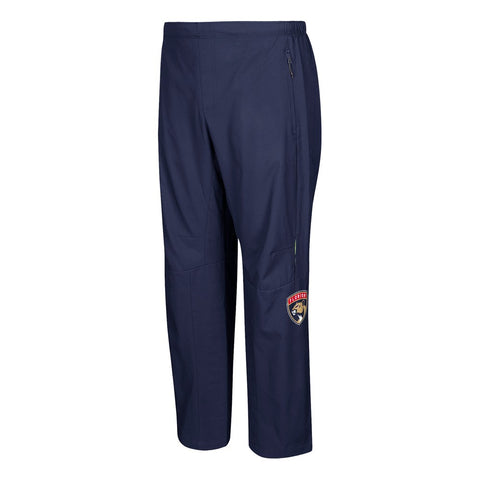 Florida Panthers NHL Adidas Men's Navy BLue Center Ice Authentic Rink Pants