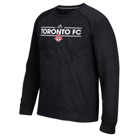 Toronto FC MLS Adidas Men's Climawarm Black Ultimate Crew Fleece