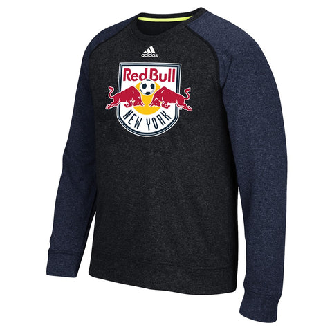New York Red Bulls MLS Adidas Men's Climawarm Navy Blue Ultimate Crew Fleece