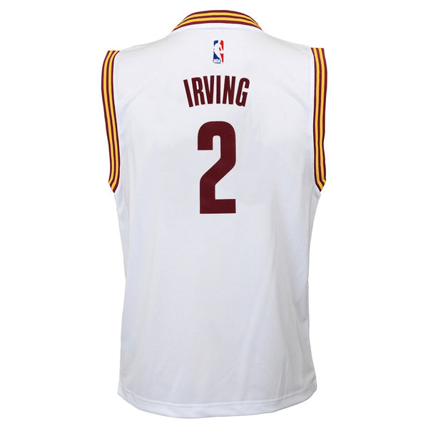 Kyrie Irving NBA Cleveland Cavaliers Home White Player Replica Jersey Youth S-XL