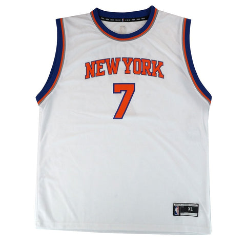 Carmelo Anthony NBA New York Knicks Home White Player Replica Jersey Youth S-XL