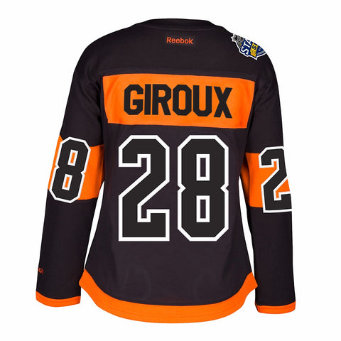 Claude Giroux Philadelphia Flyers NHL Women's Black 2017 Stadium Series Jersey