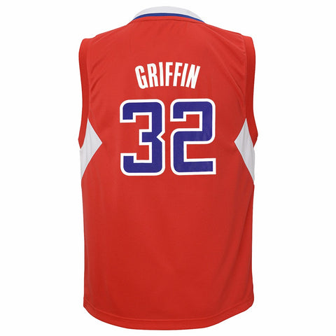 Blake Griffin NBA Los Angeles Lakers Replica Red Jersey Youth