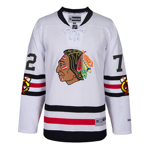 Artemi Panarin Chicago Blackhawks NHL White 2017 Winter Classic Premier Jersey