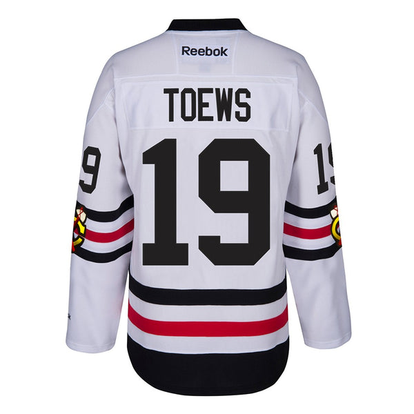 Jonathan Toews Chicago Blackhawks NHL White 2017 Winter Classic Premier Jersey