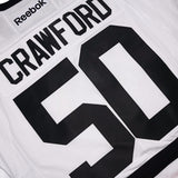 Corey Crawford Chicago Blackhawks NHL White 2017 Winter Classic Premier Jersey