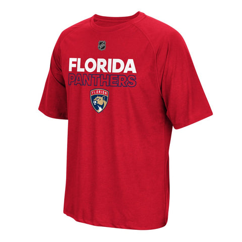 Florida Panthers NHL Adidas Men's Authentic Ice 2017 Red T-Shirt