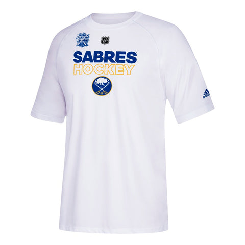 Buffalo Sabres NHL Adidas Men's 2018 Wc Authentic Ice - Event White T-Shirt
