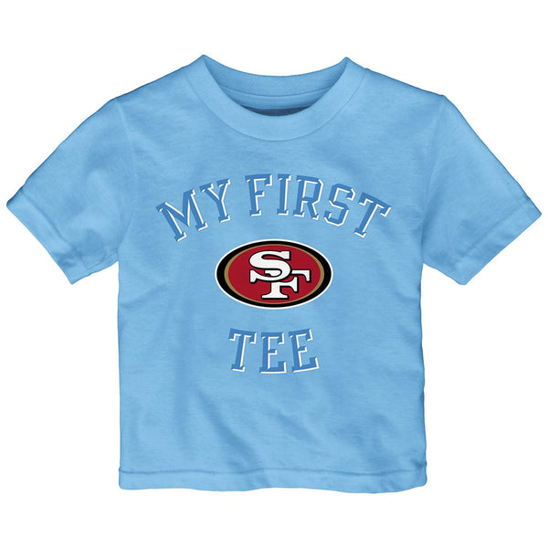 "San Francisco 49ers Outerstuff NFL Infant Light Blue ""First Blue 2.0"" T-Shirt"