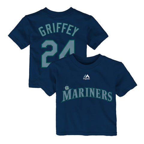 Ken Griffey Jr Seattle Mariners Majestic MLB Infant Player Jersey T-Shirt