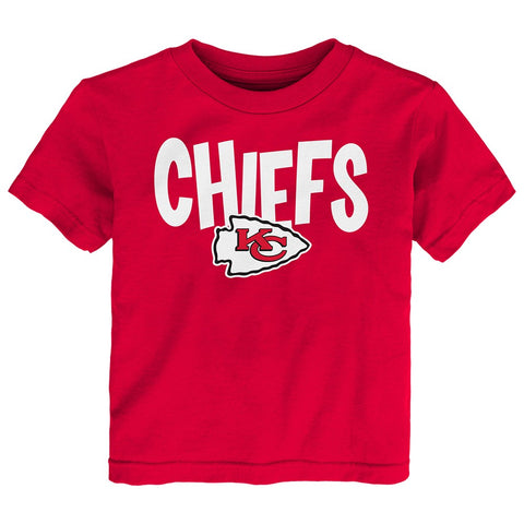 "Jamaal Charles NFL Kansas City Chiefs ""Whirlwind"" Red T-Shirt Infant (12M-24M)"