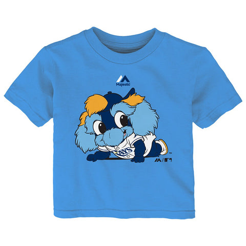 "Tampa Bay Rays Majestic MLB Infant Light Blue ""Baby Mascot"" T-Shirt"
