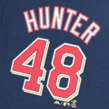 Torii Hunter Minnesota Twins MLB Infant Navy Faux Stitch Name & Number Shirt