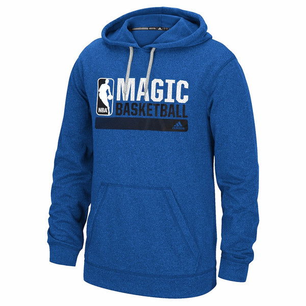 "Orlando Magic NBA Adidas Blue Ultimate Climawarm ""Icon Status"" Graphic Hoodie"