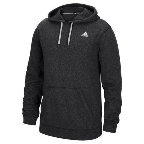 Adidas Men's Black Badge Of Sport Logo Ultimate ClimaWarm Pullover Hoodie