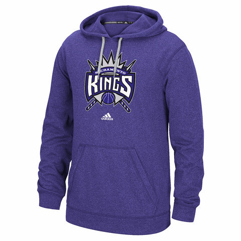 "Sacramento Kings NBA Adidas Purple Ultimate Hood Climawarm ""Primary Logo"" Hoodie"