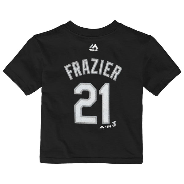 Todd Frazier MLB Majestic Chicago White Sox Jersey Black T-Shirt Toddler (2T-4T)