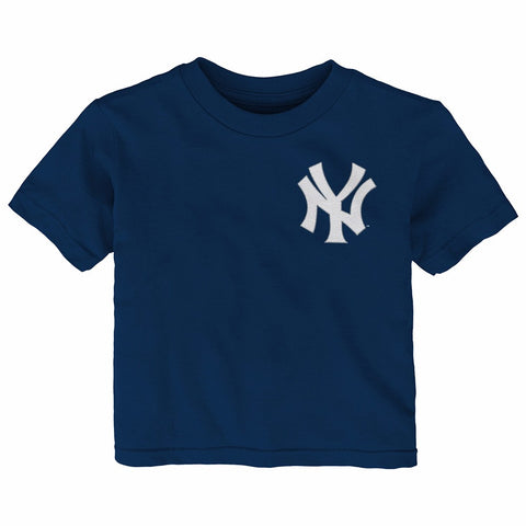Mark Teixeira New York Yankees MLB Infant Navy Faux Stitch Name & Number T-Shirt