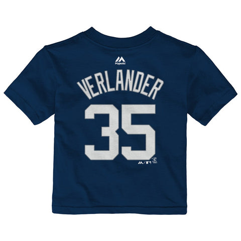 Justin Verlander Detroit Tigers MLB Majestic Infant Player Jersey T-Shirt
