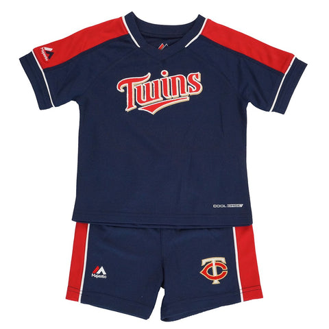 "Minnesota Twins Infant Navy Blue ""Baseball Classic"" Shirt & Shorts Set"