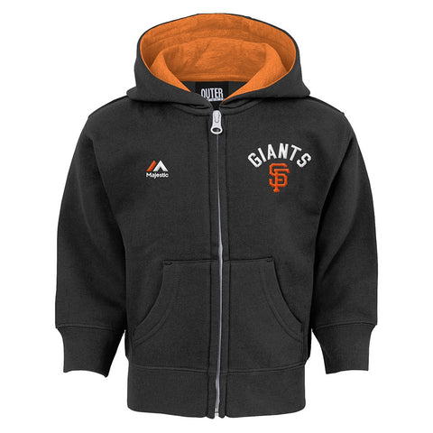 "San Francisco Giants MLB ""Basic Play"" Full Zip Hoodie Fleece Infant (12M-24M)"
