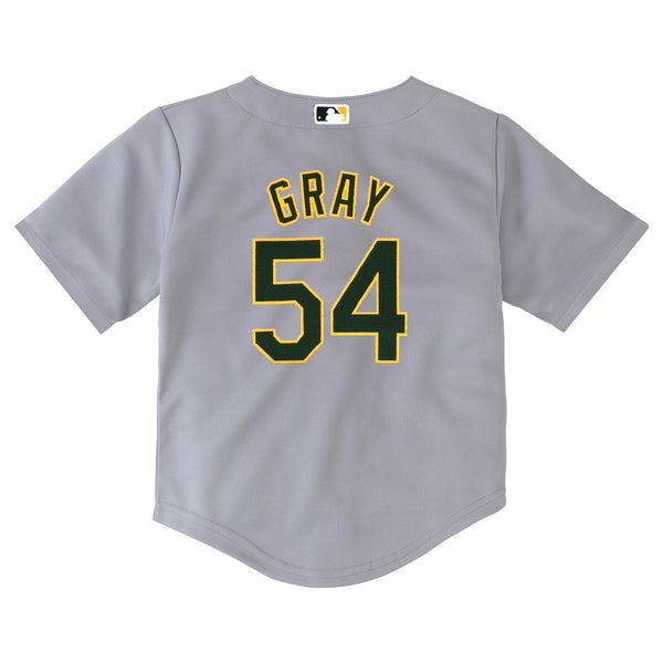 Sonny Gray MLB Majestic Oakland Athletics Road Cool Base Jersey Infant (12M-24M)
