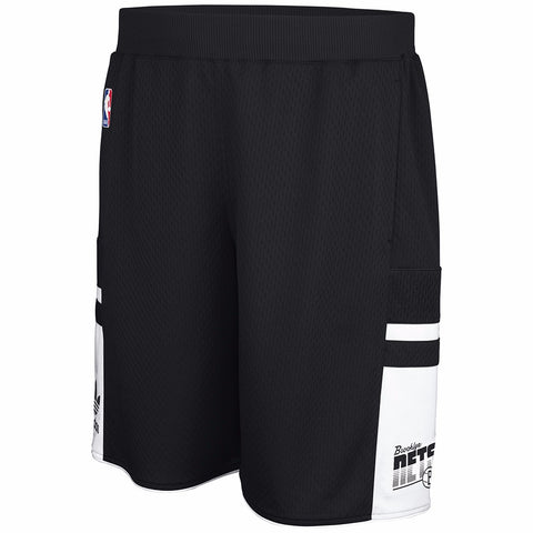 Brooklyn Nets NBA Adidas Men's Black Mesh Shorts