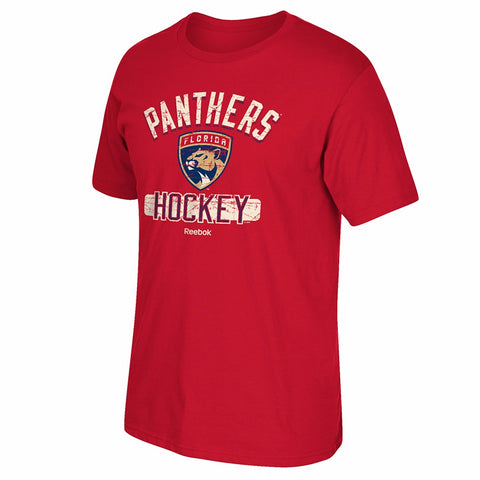 Florida Panthers Reebok 'Historic Arch'  Team Graphic Red T-Shirt Men's