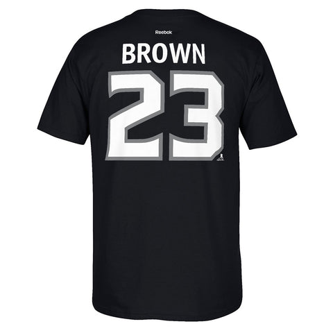 Dustin Brown Reebok Los Angeles Kings Player Premier Black Jersey T-Shirt Men's
