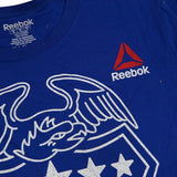 Chris Weidman Reebok UFC Men's Blue UFC 194 Crest T-Shirt BV1754