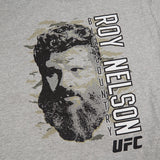 "Roy Nelson UFC Reebok Men's Grey ""Big Country"" Graphic Print T-Shirt"